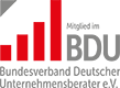 Als Unternehmer-Berater für Personal-Marketing ist KON-PART selbstverständlich Mitglied im Bundesverband Deutscher Unternehmensberater (BDU).